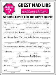 bridal mad libs wedding mad libs weddings stuff wedding forums weddingwire