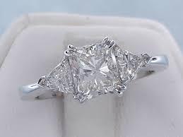 radiant cut engagement rings 1 75 ctw radiant cut engagement ring i j si1