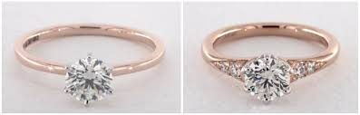 rose coloured rings images Why k color diamond is perfect for yellow gold rings png
