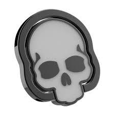 finger ring design universal cell phone finger ring holder skull skeleton design