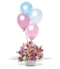 birthday balloon delivery los angeles birthday balloon basket tf46 1 80 00 florist los angeles