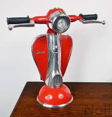 Wohnzimmer Lampen Roller Tischlampe Tischleuchte Lampe Vespa Roller Scooter Retro Luxus