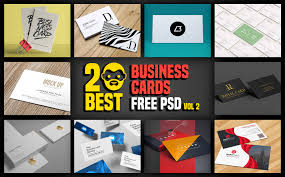 20 best business cards free psd vol 2 psddaddy com