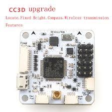 rc quadcopter cc3d upgrade version revolution flight controller