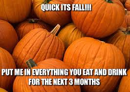 Pumpkin Spice Latte Meme - fall memes for 2017 that will get you in the pumpkin spice latte