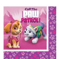 pink paw patrol tableware party supplies parties wrapped