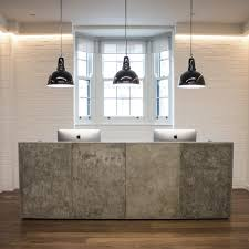 Concrete Reception Desk Concrete Reception Desk Home Design