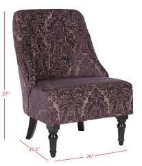 Damask Accent Chair Mcr1001a Accent Chairs Furniture By Safavieh