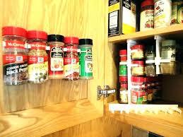 kitchen spice organization ideas cabinet spice rack organizer froidmt com