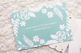 the best wedding websites can you put your wedding website on the invitation
