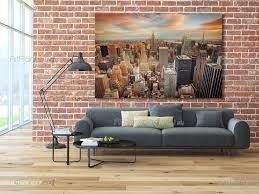 new york panoramic view wall murals posters mcc1164en new york panoramic view wall murals cities posters