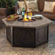 Fire Patio Table by Provenca Custom Gas Fire Table Frontgate