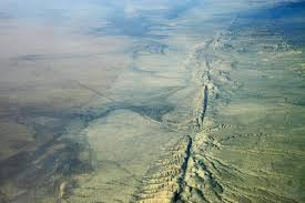 San Andreas Fault Line Map Analysis Reveals Large Scale Motion Around San Andreas Fault System