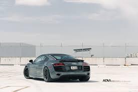 Audi R8 Grey - adv 1 wheels on top of the world audi r8 v10 adv 1 wheels