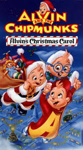 amazon alvin chipmunks alvin u0027s christmas carol vhs