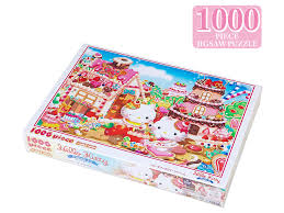 hello kitty jigsaw puzzle 1000 pieces sweets dream sanrio japan
