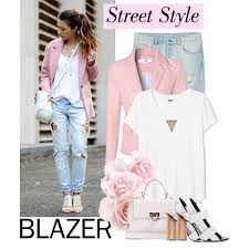 What To Wear With Light Jeans What Goes With Pastel Blazers 2018 Fashiontasty Com