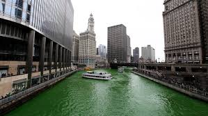 how much dye does it take to turn the chicago river green