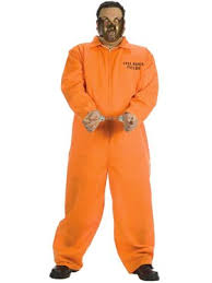 Psycho Halloween Costume Mens Convicts Costumes Adults Convicts Halloween Costume Men