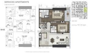 entisar tower 2 bedroom apartment unit 3 floor plan entisar tower 2 bedroom apartment unit 2 floor plan