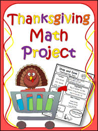 thanksgiving math project by fourth at 40 teachers pay teachers