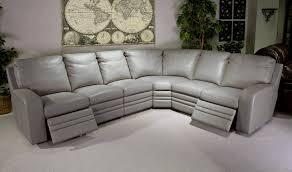 Modular Reclining Sectional Sofa Sofa Gray Leather Sectional Sofa Modern Grey Sectional Modular