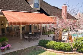 Roof Mounted Retractable Awning Retractable Awning Working Space