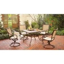 Hton Bay Swivel Patio Chairs 21 Best Patio Furniture Images On Pinterest Outdoor Rooms