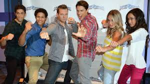 power rangers super megaforce cast interview nickelodeon hotel