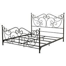 Target Metal Bed Frame Lorelei Metal Bed Frame Bronze Christopher
