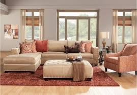 tufted living room furniture aesthetic cindy crawford living room furniture for sectional sofa