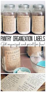 meetup monday link party week 52 pantry organization labels