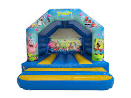 spongebob a frame bouncy castle spongebob