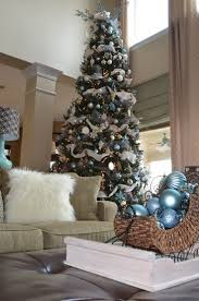 25 white and silver tree decorations ideas