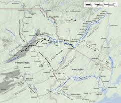 Pennsylvania Map Cities by Coal Region Wikipedia