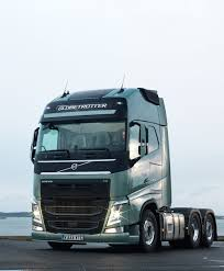 volvo diesel trucks press test drive of the new volvo fh in sweden volvo fh series