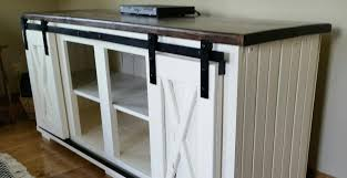 barn door side table sliding barn door console entertainment centers coffee tables end