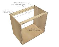 How To Build A Cabinet Base Ana White 36