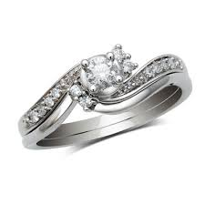Wedding Set Rings by Wedding Set Rings Wedding Promise Diamond Engagement Rings