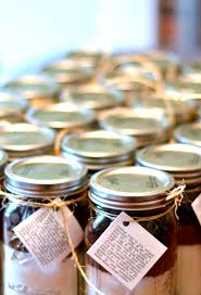 jar party favors chocolate chip cookie mix favors lovely lucky