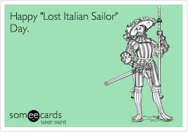 Columbus Day Meme - happy lost italian sailor day columbus day ecard