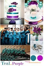 color palette teal and purple weddbook