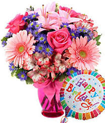 flowers birthday pink delight bouquet birthday at from you flowers