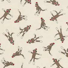 Sock Monkey Fabric Fabric And For Sock Monkey Baby Patterns Patterns Kid