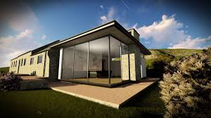 glass box architecture glass box extension near abersoch north wales