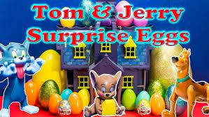 tom jerry cartoon network surprise eggs scooby doo tom