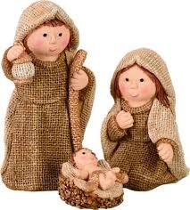 home decor imports inc nativity childrens 3pc burlap set figurine christmas home decor