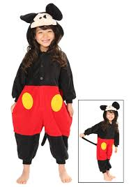 mickey mouse toddler costume kids mickey mouse pajama costume
