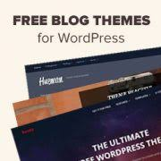best blog themes ever best free wordpress blog themes for 2018