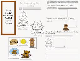 classroom freebies groundhog emergent reader booklet